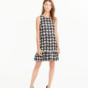 J. crew Ruffle Hem Dress